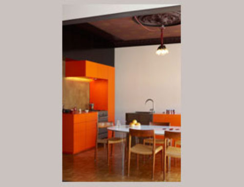 Color Spotlight: Orange Interiors