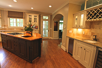 Home renovation and home remodeling design services - remodeled kitchen