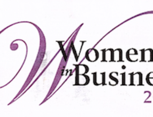 Marta Mitchell wins Women in Business Award